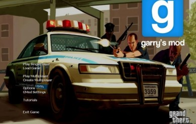 GTA4 Menu + Sound For Garry's Mod Image 2