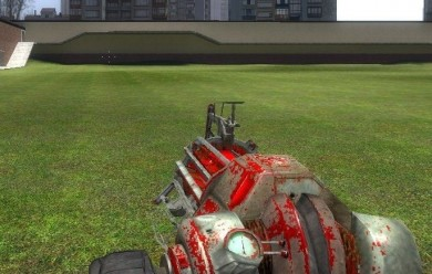 Bloody Gravity Gun Skin For Garry's Mod Image 2