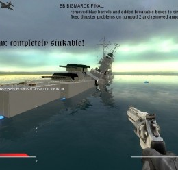 Battleship Bismarck Final.zip For Garry's Mod Image 3