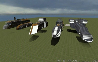 sf_ship_pack.zip For Garry's Mod Image 1