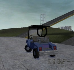 Butler's Golf Cart.zip For Garry's Mod Image 2
