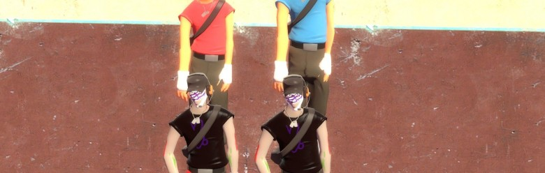tf2_gamzee_scout_skin_hexed.zi For Garry's Mod Image 1