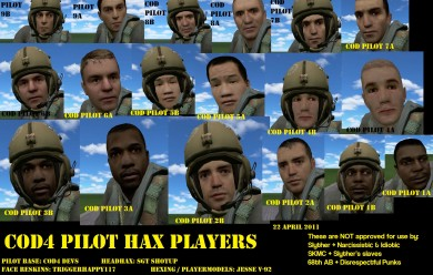 cod4_pilot_citizen_playermodel For Garry's Mod Image 1