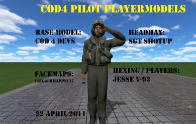 cod4_pilot_citizen_playermodel For Garry's Mod Image 2