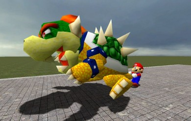 (SM64) Bowser Ragdoll V1 For Garry's Mod Image 1