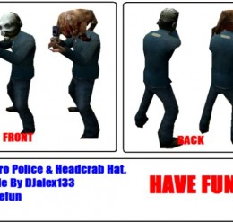 metro_police___head_crab_hat's For Garry's Mod Image 1