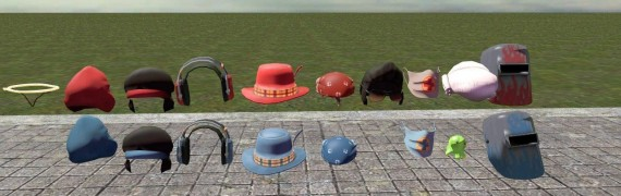 TF2 hat effect fixed, now prop