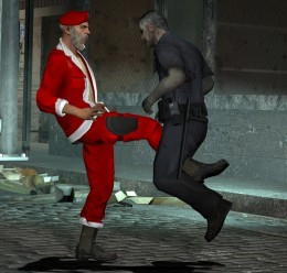 Bill (L4D) Santa Model For Garry's Mod Image 3