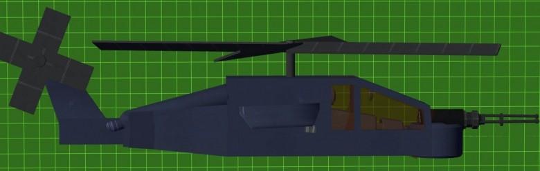 Minicopter Bluebird For Garry's Mod Image 1