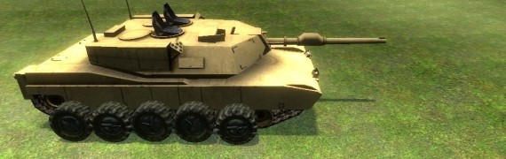 drivable Tank with turrets.zip