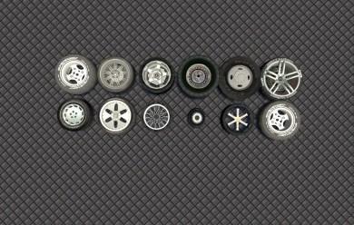 Wheels pack For Garry's Mod Image 1