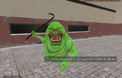 Slimer player model For Garry's Mod Image 1