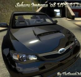 Subaru Impreza WRX STI 08 by T For Garry's Mod Image 1