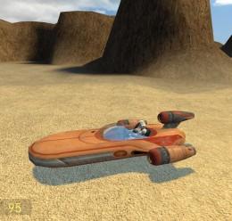 Drivable Landspeeder For Garry's Mod Image 1