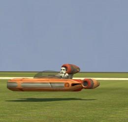 Drivable Landspeeder For Garry's Mod Image 2