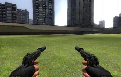 Dual Beretta's For Garry's Mod Image 1