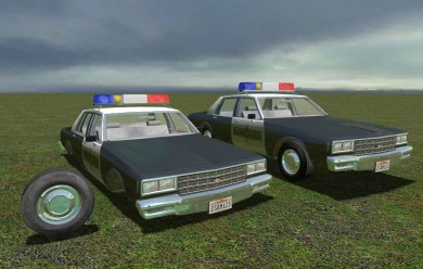 Police Chevrolet Impala 88 For Garry's Mod Image 1