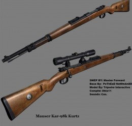 Mauser Kar-98k For Garry's Mod Image 1