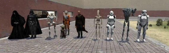 Star Wars Ragdolls for GMOD 10
