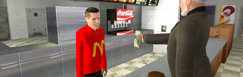 mcdonalds_workers_v2.zip For Garry's Mod Image 1