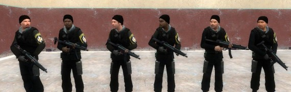 Serbian Soldiers (Rebel Skin)