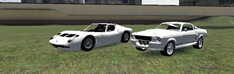 shelby_gt500_and_lamborghini_m For Garry's Mod Image 1