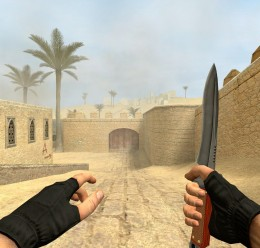 Tactical Css Knife Wooden Grip For Garry's Mod Image 2