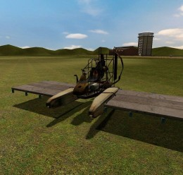 flyable_plane.zip For Garry's Mod Image 1