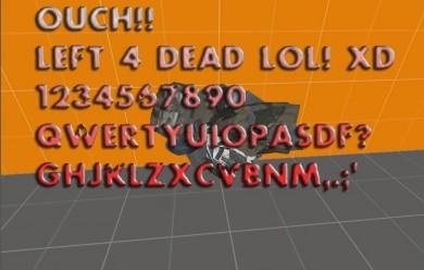 left 4 dead font , text.zip For Garry's Mod Image 2
