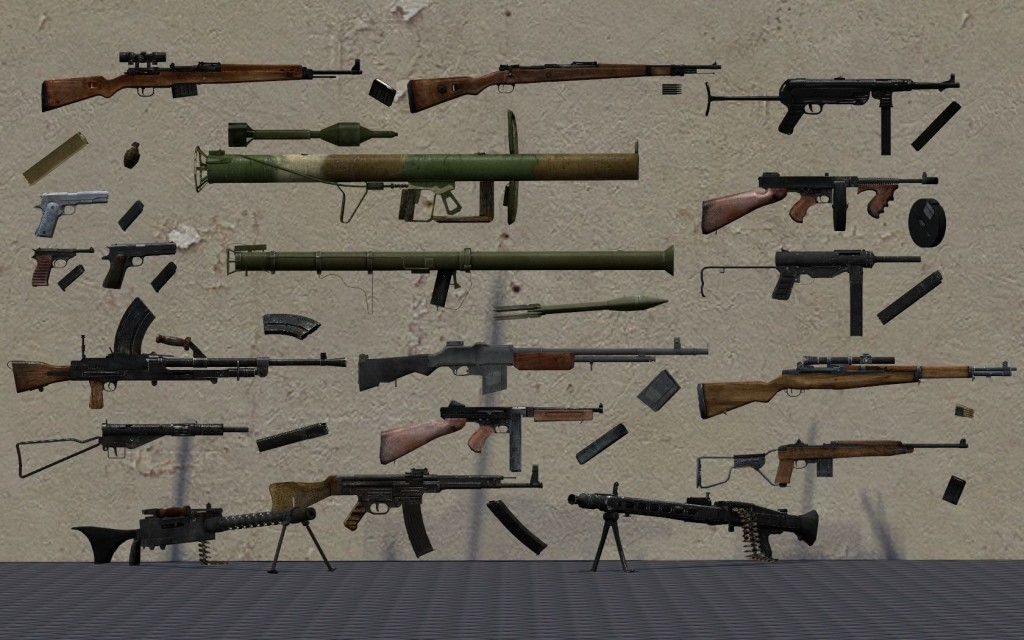 Brothers In Arms Weapon Pack Garrysmods Org