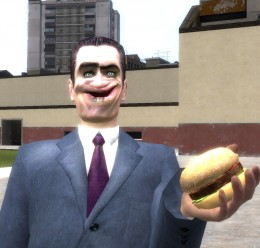 Edible Hamburger For Garry's Mod Image 1