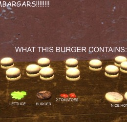 Edible Hamburger For Garry's Mod Image 3