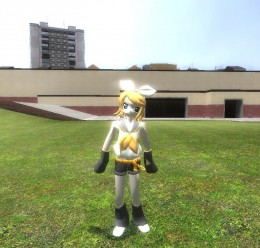 Rin Kagamine Player Model For Garry's Mod Image 2