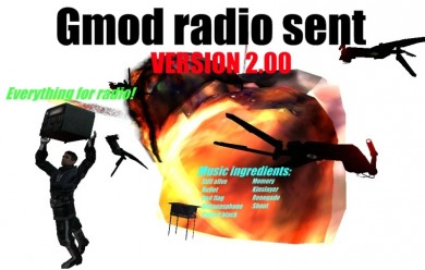 Gmod radio sent V2.0.zip For Garry's Mod Image 1