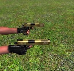 dual 1911s gold pistols(with a For Garry's Mod Image 1