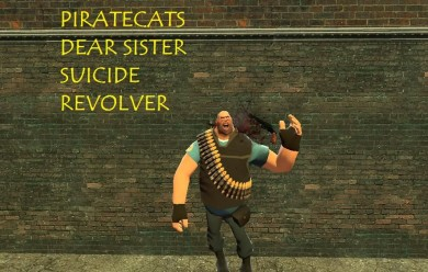 Piratecats suicide revolver For Garry's Mod Image 1