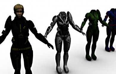 Asari Spectre and hf Janissary For Garry's Mod Image 2